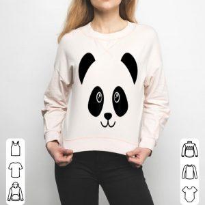 Panda Face Cute Bear shirt