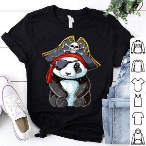 Panda Pirate Jolly Roger Flag Skull And Crossbones shirt