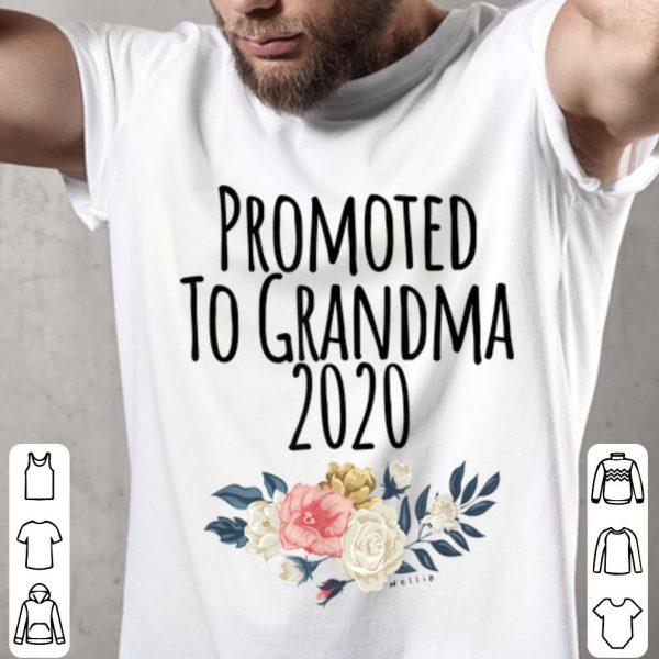 Promoted To Grandma 2020, New Baby Announcement Gigi Mimi shirt