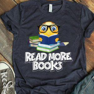 Reading Emoji Funny Cute Bookworm Gift shirt