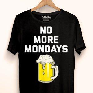 Retired Drinking Beer Retirement shirt