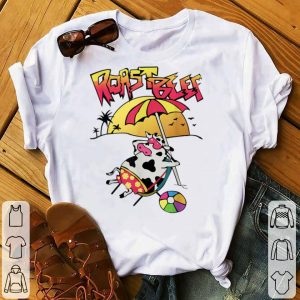 Roast Beef Things Cow on the Beach sweater