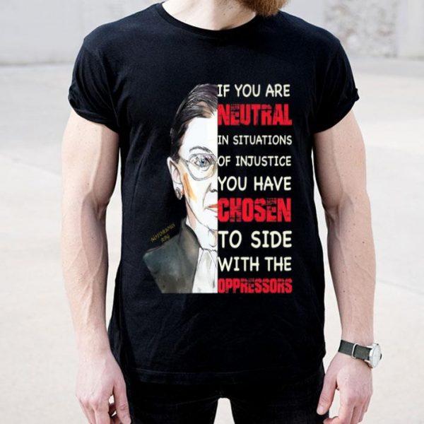 Ruth Bader Ginsburg Notorious RBG Quote Feminist shirt