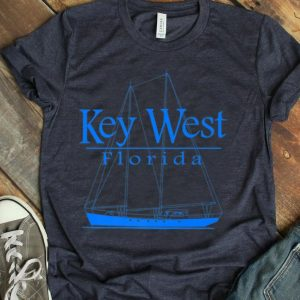 Sailing Key West Florida Vacation Premium shirt