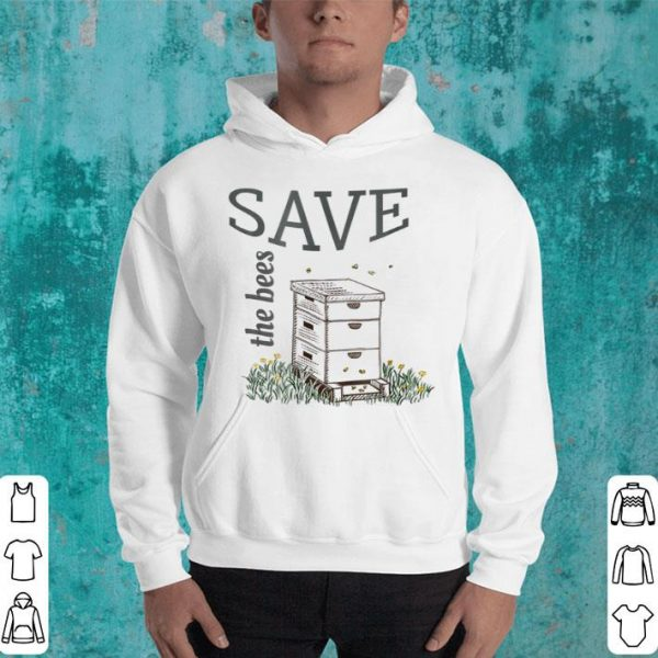 Save The Bees For Honey Bee Lover Or Beekeeper shirt