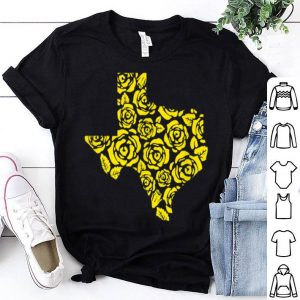 The Yellow Rose Of Texas Pattern shirt