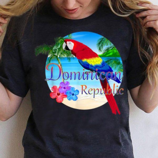 Tropical Dominican Republic Beach shirt