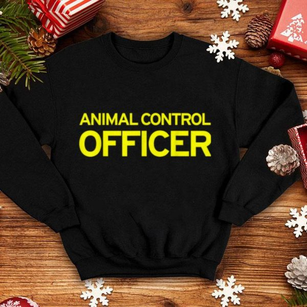 Funny Animal Control Officer Halloween Costume shirt