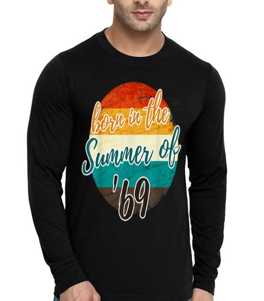50th Birthday Summer Of 69 Mom Dad Vintage shirt