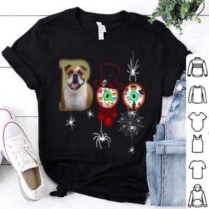 Awesome Bulldog Boo Funny Halloween For Bulldog Dog Lover shirt