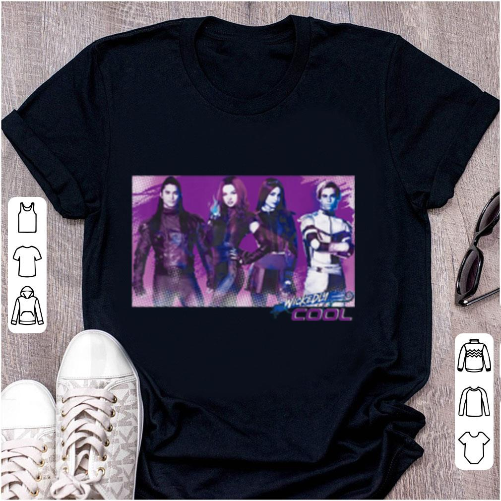 Awesome Carlos Mal Jay Evie Wickedly Cool Descendants 3 shirt 1 - Awesome Carlos Mal Jay Evie Wickedly Cool Descendants 3 shirt