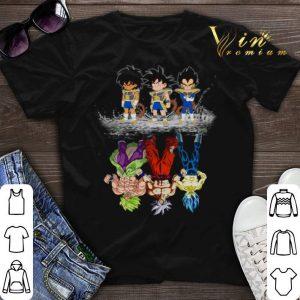 Baby Broly Son Goku Vegeta reflection water mirror Super Saiyans shirt sweater