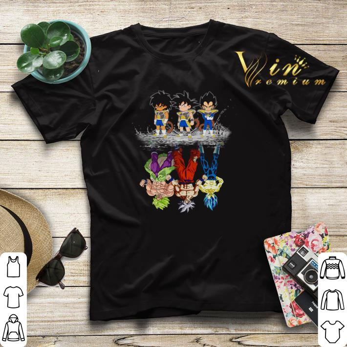 Baby Broly Son Goku Vegeta reflection water mirror Super Saiyans shirt sweater 4 - Baby Broly Son Goku Vegeta reflection water mirror Super Saiyans shirt sweater