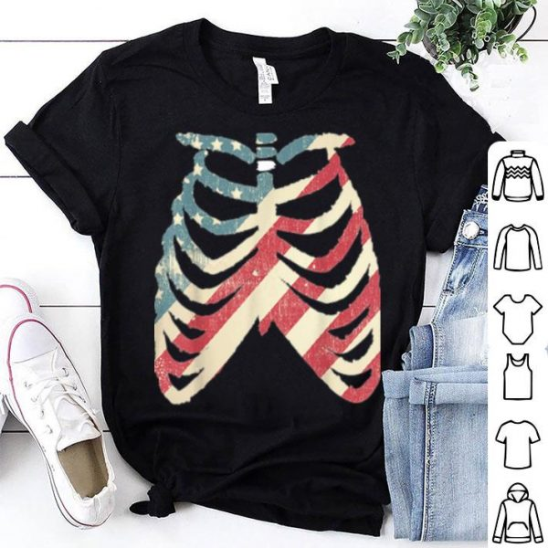 Beautiful Halloween For Women Skeleton Rib Cage Grunge shirt