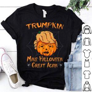 Beautiful Halloween Trumpkin Funny Make Halloween Great Again shirt