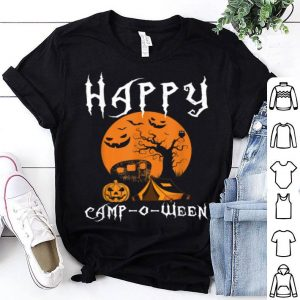 Beautiful Happy Camp-o-ween Funny Halloween Camping Costume Gift shirt