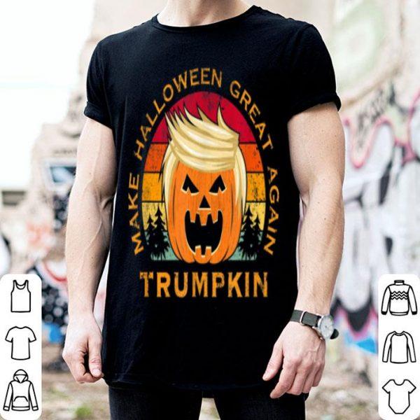 Beautiful Trumpkin Make Halloween Great Again Vintage shirt