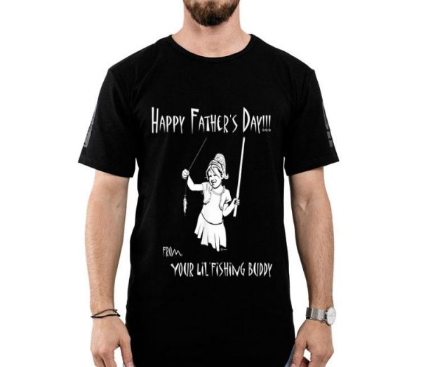 Father's Day From Daughter Fishing Theme shirt