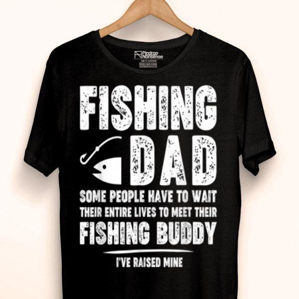 Fishing Dad Father Kid Matching Fathers Day shirt