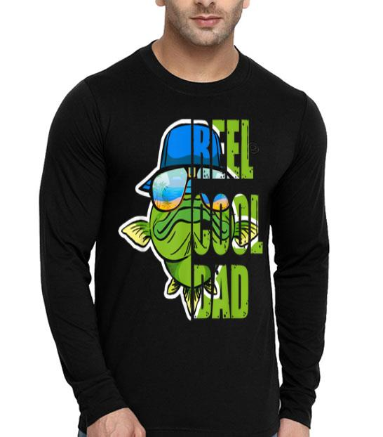 Fishing Reel Cool Dad Father's Days shirt