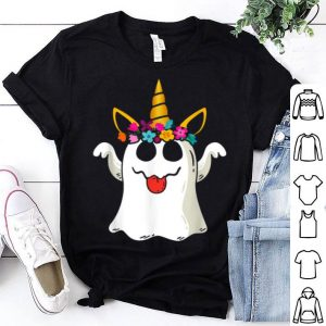 FunnyBoo Ghost Unicorn Scary For Halloween Day shirt