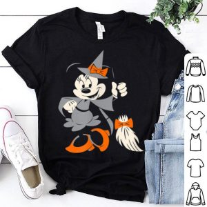 FunnyDisney Halloween Minnie Happy Witch shirt