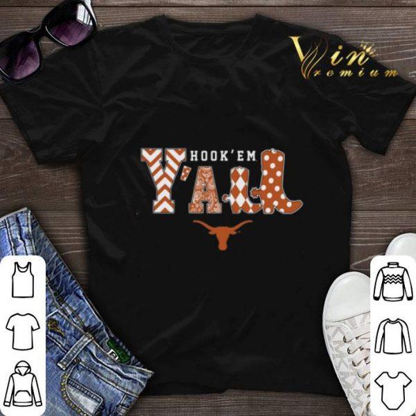 Hook' em y'all Texas Longhorns shirt sweater