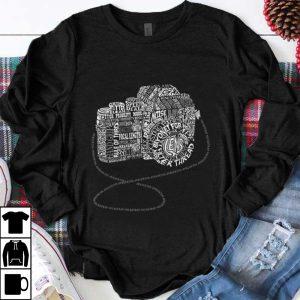 Hot Camera Amazing Anatomy Typography shirt