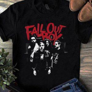 Hot Fall Out Boy Punk Scratch shirt