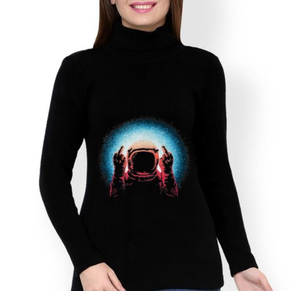 Hot Fuck The World Astronaut Spaceman shirt