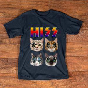 Hot Hiss Cats Kittens Rock shirt