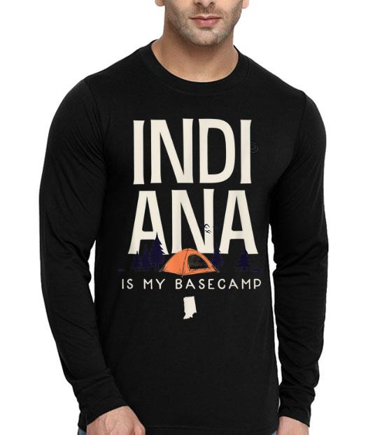 Indiana Is My Base Camp shirt