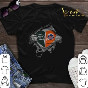 It's In My Heart New York Jets and New York Mets shirt