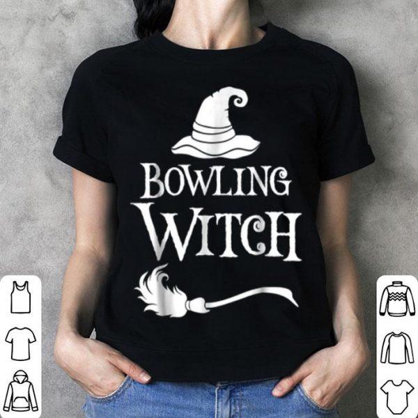 Nice Bowling Witch Halloween Costume shirt