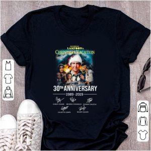 Nice Christmas Vacation 30th Anniversary 1989 2019 Signature shirt