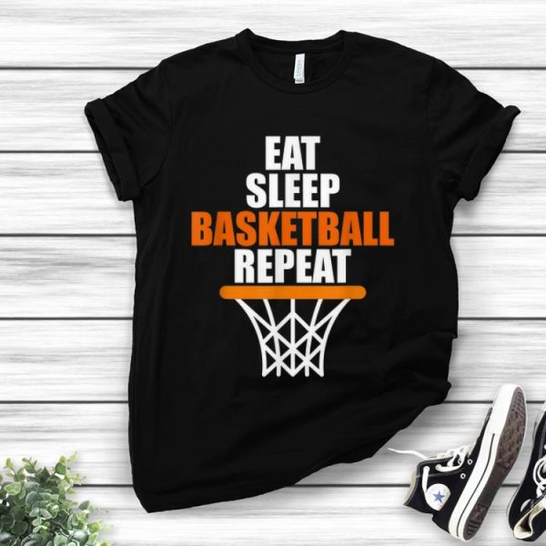 Nice Eat Sleep Basketball Repeat shirt