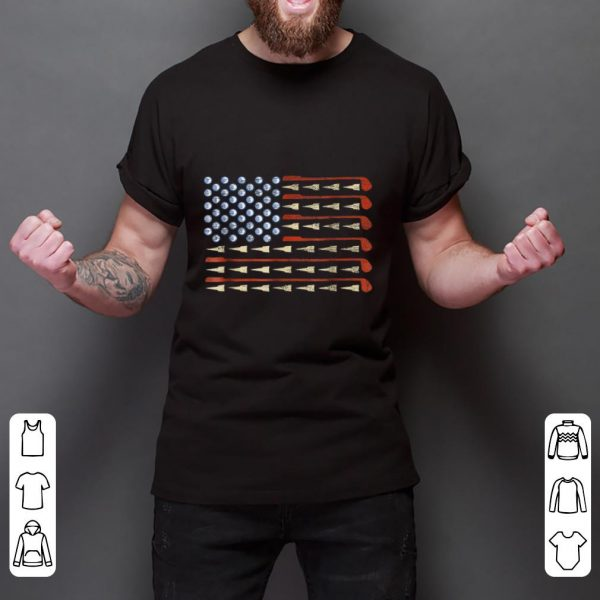 Nice Golf American Flag shirt