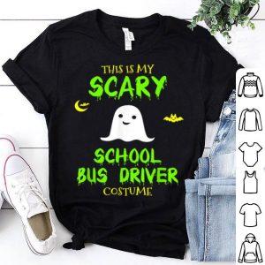 Nice Scary School Bus Driver Costume Halloween shirt