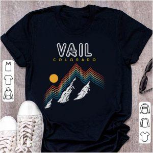 Nice Vail Colorado USA Ski Resort 1980s shirt