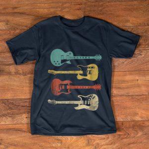 Nice Vintage Electric Guitar Distressed shirt