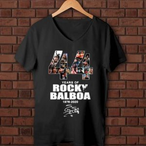 Official 44 Years Of Rocky Balboa 1976-2020 signature shirt