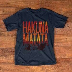 Official Disney Lion King Hakuna Matata Sunset shirt