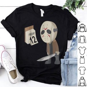 Official Friday 12th Funny Halloween Horror Graphic shirt