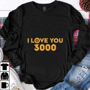 Official Marvel Avengers Endgame Iron Man I Love You 3000 shirt