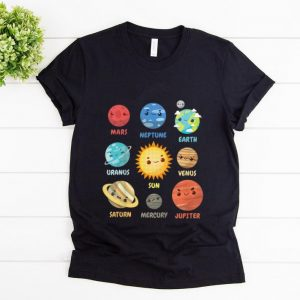 Official Solar System Planets shirt