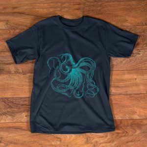 Official Vintage Octopus Ocean Sea Life Cool Animals shirt