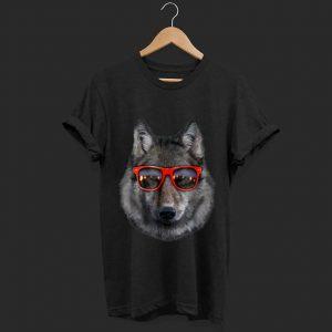 Official Wolf in Retro Sunglass Frame shirt