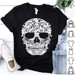 Original Dalmatian Dog Skull Halloween Costumes Gift shirt