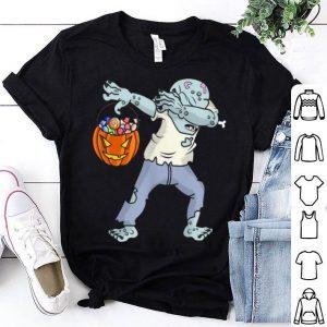 Original Happy Daboween Zombie Boy Halloween Dabbing Trick Dab shirt