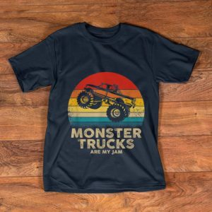 Original Monster Truck Are My jam Vintage shirt